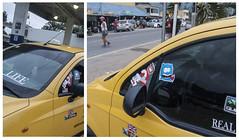Un taxista muy parchado en La Guajira (Hink7) Tags: pinta
