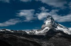 Matterhorn, Zermatt (ruediger59) Tags: mountains alps clouds switzerland nikon zermatt matterhorn alpen d300