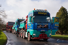 National Grid Transformer Move (Gary J Morris) Tags: truck transformer lorry wick haulage nationalgrid garymorris allelys bs30