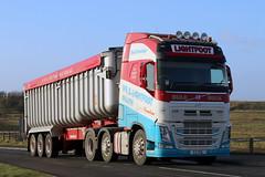 38 C2 VSL Kenny (Cumberland Patriot) Tags: truck volvo tipper s cumbria trucks kenny viv fh artic xl csl 38 silloth unit bulk globetrotter haulage lightfoot of fh4 c2vsl