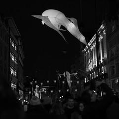 Lumiere London (eric_q) Tags: bw london night dark lumiere lumierelondon