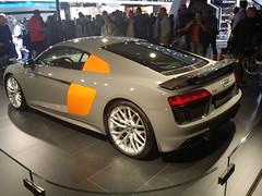 Audi R8 V10 Plus (Alessandro_059) Tags: orange grey plus audi autosalon v10 r8 2016 nardo