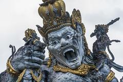 _71K4647.jpg (Pete Finlay) Tags: bali statue bedugul hindustatue balibotanicgarden