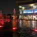 Red fountain in Putrajaya