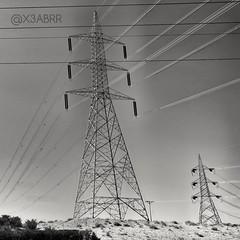 #hdr #landscape #nature #bw #blackandwhite #ksa #saudiarabia #saudiarabiatag #_ # # # # # #_ # #Electrify #High #pressure #cable #interconnection #_ #_ (photography AbdullahAlSaeed) Tags: blackandwhite bw nature landscape high cable pressure saudiarabia hdr interconnection ksa   electrify       saudiarabiatag