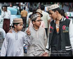 Moslem boys walking in Yangon, Myanmar (jitenshaman) Tags: travel friends boys asian asia friendship yangon burma muslim cap destination myanmar burmese rangoon skullcap moslem schoolboys worldlocations