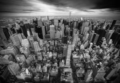 Manhattan (Robban.G) Tags: bw usa white newyork black skyscraper mono us nikon manhattan empirestatebuilding nikkor d800 1424