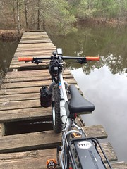 Bridge Out (The Goat Whisperer) Tags: bike bicycle ride fat pug pugsley surly ops fatbike