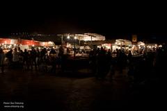 Djemaa EL Fna food stalls (pbelskamp) Tags: morocco marrakech marokko foodstalls djemaaelfna
