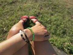 Bracelet (Yechi Oktiari) Tags: bracelet pearl canong1x manulalu