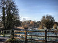 River Itchen at Easton. (neilalderney123) Tags: 2016neilhoward