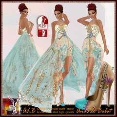 ALB CHRISTINA gown color by AnaLee Balut (AnaLee Balut) Tags: design secondlife alb virtualworld slfashion sldesign secondlifeclothes sldesigner femalecostume secondlifeshoes albdreamfashion annaleebalut analeebalut lamugroup secondlifeheels