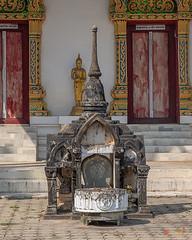 Wat Ban Na Phra Ubosot Boundary Stone Shrine (DTHST0182) วัดบ้านนา ที่บูชาเสมา พระอุโบสถ