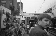 London (markgetstern) Tags: street city people urban london station analog train 35mm photography photo tube models ishootfilm iso busy jungle 400 asa shootfilm filmisnotdead