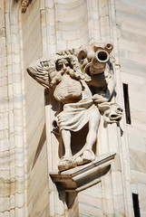 Duomo - Cathedral Milano (Sghirat) Tags: italy sculpture milan statue italia cathedral milano gothic duomo gotico