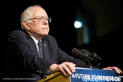 Bernie Sanders Address Campaign Rally (Greenpeace USA 2015) Tags: usa democracy newhampshire exeter vote republican democrat keepitintheground