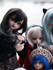 Vanina, Look Up ! (shorleckin) Tags: doll haruka bully extrieur unoa dollfiedream sqlab ddh07