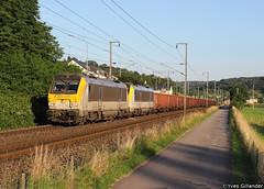CFL Cargo 3018 + 3008 Lintgen 16.07.2014 (Trainspotting-Wiki) Tags: born cargo 3000 cfl 3008 3018 lintgen anglefort