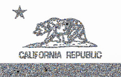 california republic (pbo31) Tags: sanfrancisco california bear winter white color collage star nikon republic state mosaic flag picture pile bayarea february 2016 boury pbo31 d810 shapecollage