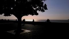 Mumbai.. (bharathrajneerkaje) Tags: sunset sea people copyright beach drive metro outdoor weekend citylife lg breeze mumbai mobilephotography lgg4