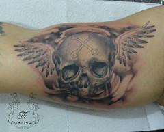 skull_wings (TH Tattoo - Salon tatuaje Bucuresti) Tags: skull skulltattoo tatuajebucuresti boystattoo tatuaj craniu tattooartist salon studio shop