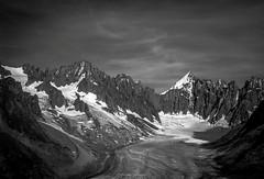 Fin de Journe sur le Bassin d'Argentire (Frdric Fossard) Tags: panorama nature alpes lumire ombre glacier ciel contraste nuage ambiance clart hautesavoie montdolent luminosit massifdumontblanc refugedargentire