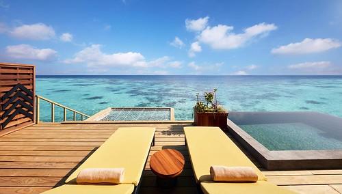 Overwater Pool Villa - Terrace