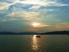 China - Hangzhou - Westsee - Westlake (ivlys) Tags: china nature landscape evening abend westlake hangzhou landschaft westsee ivlys