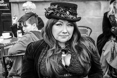 2014-10-31 12.55.01 (jameshowardphotography) Tags: portrait halloween hat hair long yorkshire gothic goth whitby northeast northyorkshire