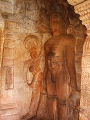 Jain saint (Voyou Desoeuvre) Tags: india places badami