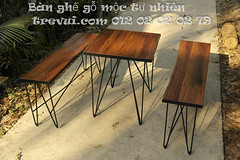 Bn gh g t nhin chn st (Trevui.com) Tags: design cafe ni ngoi n lm ang qun g bch bn tht mc thit k gh