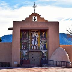 The Chapel At The Carmelite Monastery In Santa Fe, NM. (☁☂No Tornado-Just Rain!☂☁) Tags: carmelitemonestary santafe newmexico