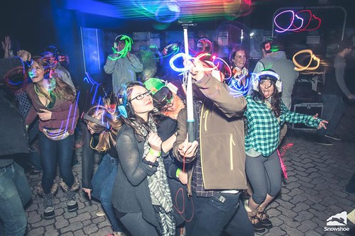 """Photo credit: Kurtis Schachner. Taken at the silent disco at Snowshoe Mountain featuring DJ V. Powered by Silent Storm • <a style=""""font-size:0.8em;"""" href=""""http://www.flickr.com/photos/33177077@N02/25335822054/"""" target=""""_blank"""">View on Flickr</a>"""