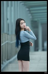 DP1U5302 (c0466art) Tags: light portrait girl canon pose photography pretty action body good gorgeous skirt lovely charming tight elegant activity shape society keelung 1dx c0466art