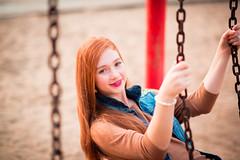 (Isai Alvarado) Tags: park street sky urban cinema blur cute film dan girl smile fashion hair movie fun happy model nikon focus dof bokeh walk stock longhair 85mm cine redhead lovely cinematic dany alvarado d800 isai isaialvaradofotografia