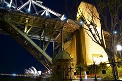 Bridge (quarterdeck888) Tags: city nightphotography water night nikon harbour sydney frosty quarterdeck d7100 jerilderietruckphotos