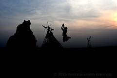 Devotee (Venkataramesh.Kommoju) Tags: india religious dance worship god nandi shiva devotee hindu silhoutte taandavam tandavam
