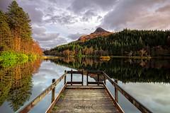 Glencoe Lochan (StevieC - Photography) Tags: mountain reflection forsale canvas glencoe pap munro lochan papofglencoe steviec
