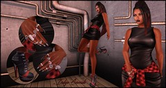 Don't Sell Me Your Pipe Dreams (My Sisters Closet) Tags: phoenix indigo shakeup eleganceboutique whorecouture exposeur hairology realevilindustries glamistry