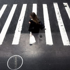 Floating through the #Crosswalk #NYC (Jesonis|Photography_On/Off (super busy)) Tags: nyc crosswalk