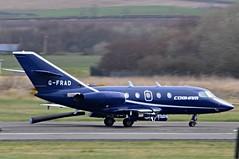 G-FRAD Falcon20 at Prestwick (Allan Durward) Tags: airport glasgow cobham prestwick pik da20 prestwickairport egpk falcon20 dassaultfalcon20 dassaultfalcon glasgowprestwick gfrad