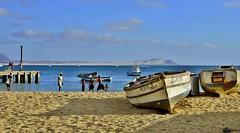 my memories ... Sal Rei beach ... (miriam ulivi) Tags: sea people beach colors boats mare barche persone spiaggia boavista nikond3200 marculescueugendreamsoflightportal miriamulivi