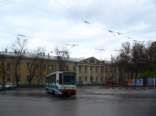 Moscow tram 71-608K 4057