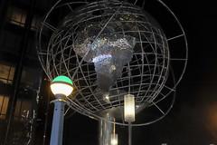 Columbus Circle (wwward0) Tags: world nyc newyork night globe shiny unitedstates outdoor earth manhattan cc sphere columbuscircle wwward0
