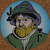 Round Playing Card Jack of Clubs (Leo Reynolds) Tags: xleol30x squaredcircle playing card playingcard deck carddeck sqset126 canon eos 40d xx2016xx
