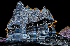 India - Madhya Pradesh - Khajuraho - Temple - 261b (asienman) Tags: india khajuraho madhyapradesh khajurahogroupofmonuments asienmanphotography asienmanphotoart
