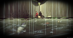 Nature's shower-Love Unconditional (Chioma Namiboo Jinn) Tags: pets fish home rain sl secondlife koi kimono ponds windlight slphotography secondlifesecondlife secondlifefashion secondlifephotography slwindlight secondlifeexploration slmarketplace secondlifeculture