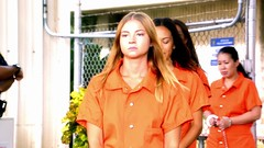 h50503_01749 (UJB88) Tags: county orange women uniform prison jail facility jumpsuit correctional restrained