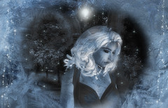You're frozen You're frozen when your heart's not open (| Raven |) Tags: life portrait art frozen sl ravi works second ravishing