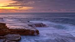 Colour and flow (The Photo Smithy) Tags: sunrise dawn maroubra rockshelf